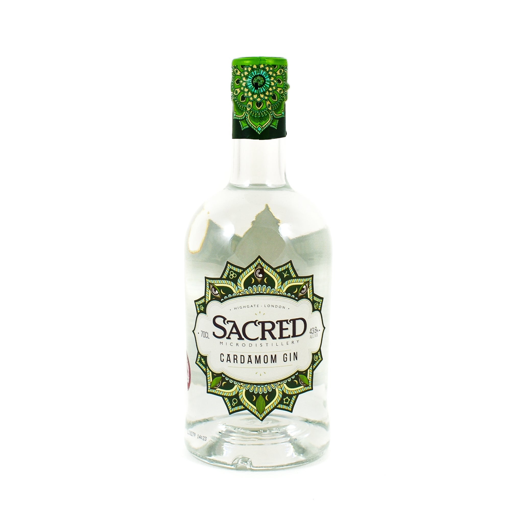 Sacred Spirits Sacred Cardamom Gin 70cl Ingredients Drinks Alcohol