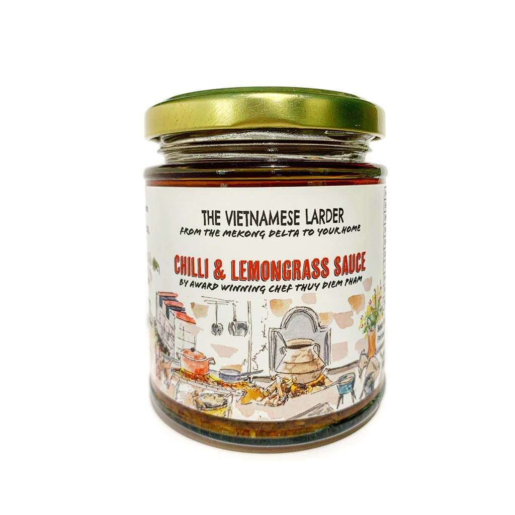 The Vietnamese Larder Chilli & Lemongrass Sauce