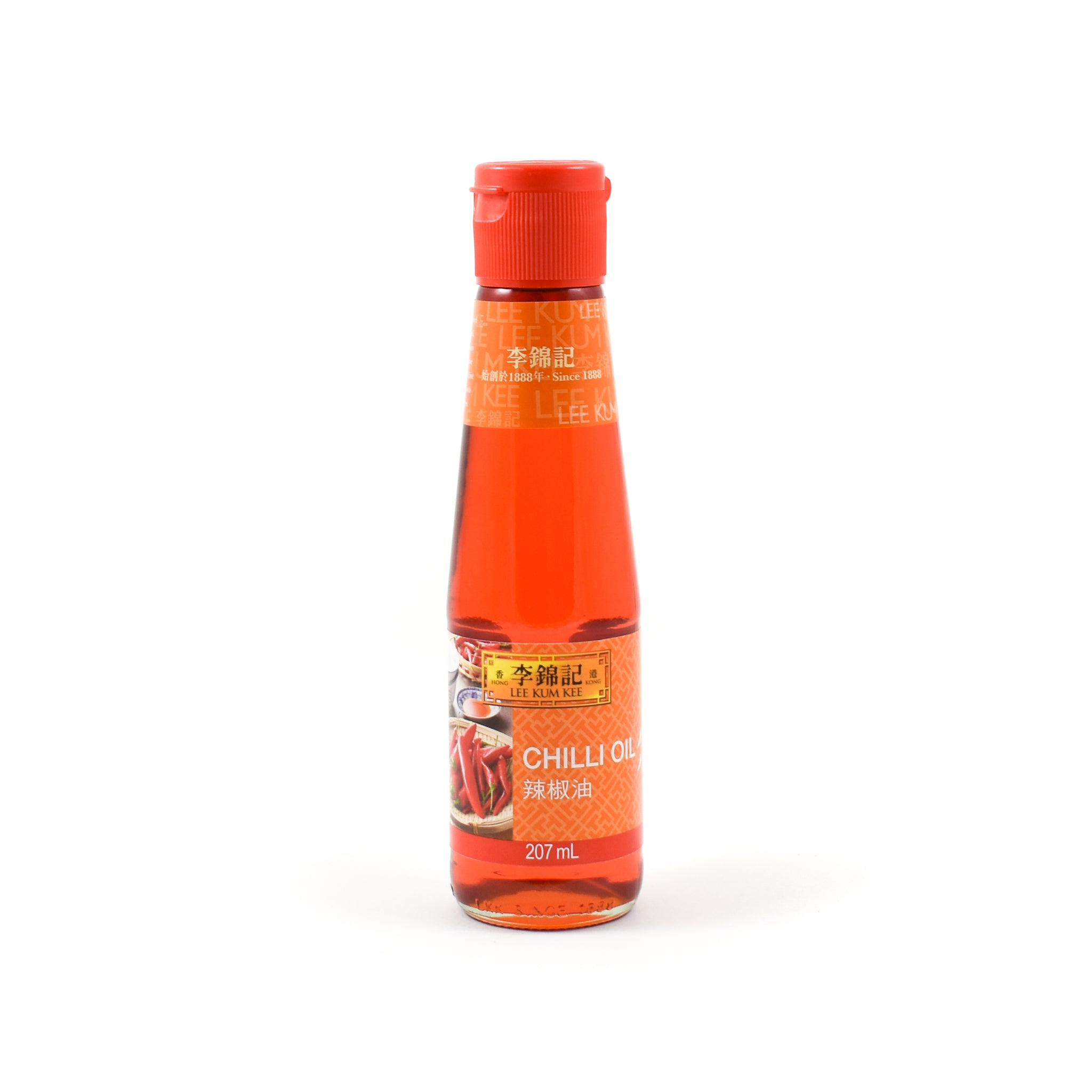 Lee Kum Kee Chilli Oil 207ml Ingredients Oils & Vinegars Chinese Food