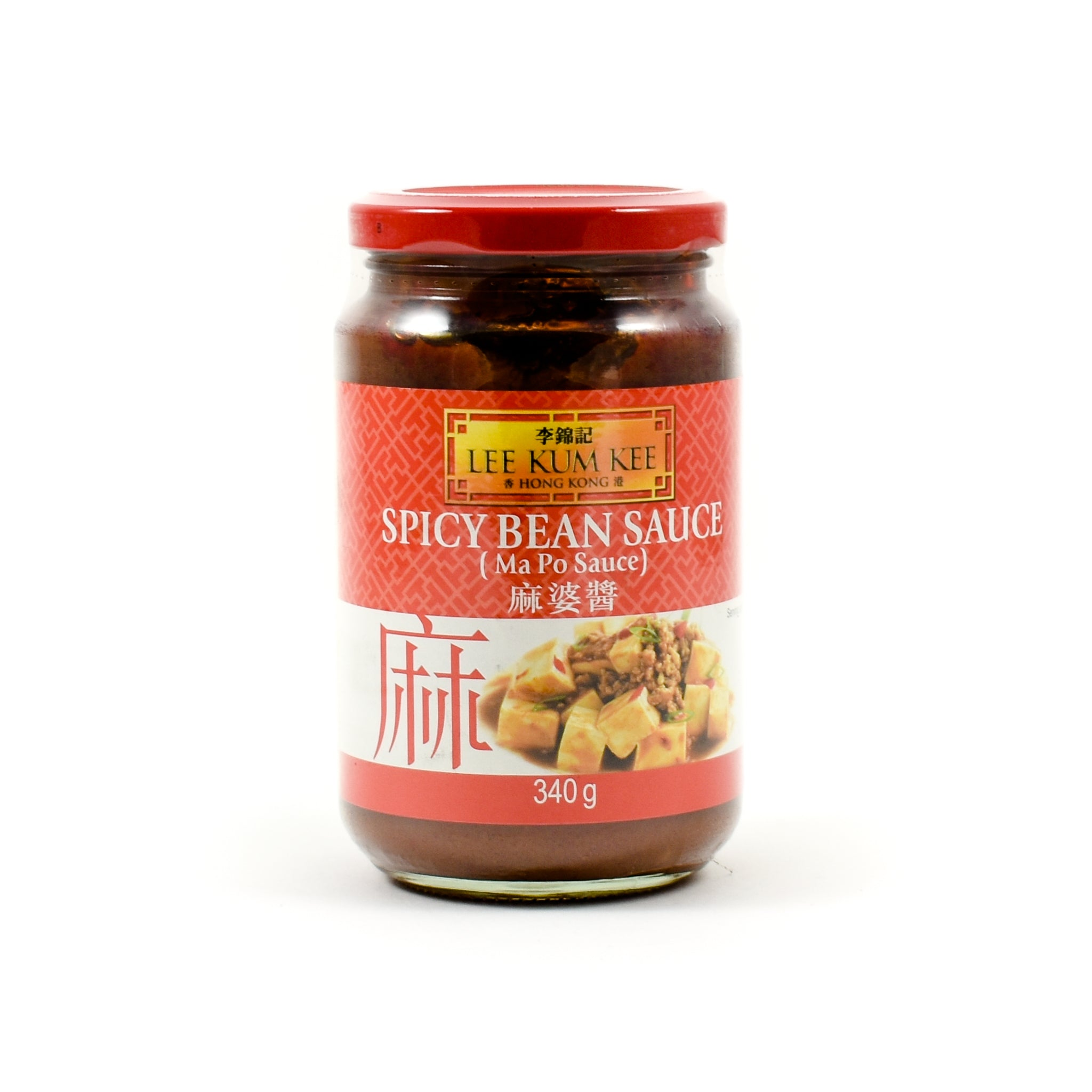 Lee Kum Kee Spicy Bean Sauce Ma Po 340g Ingredients Sauces & Condiments Asian Sauces & Condiments Chinese Food
