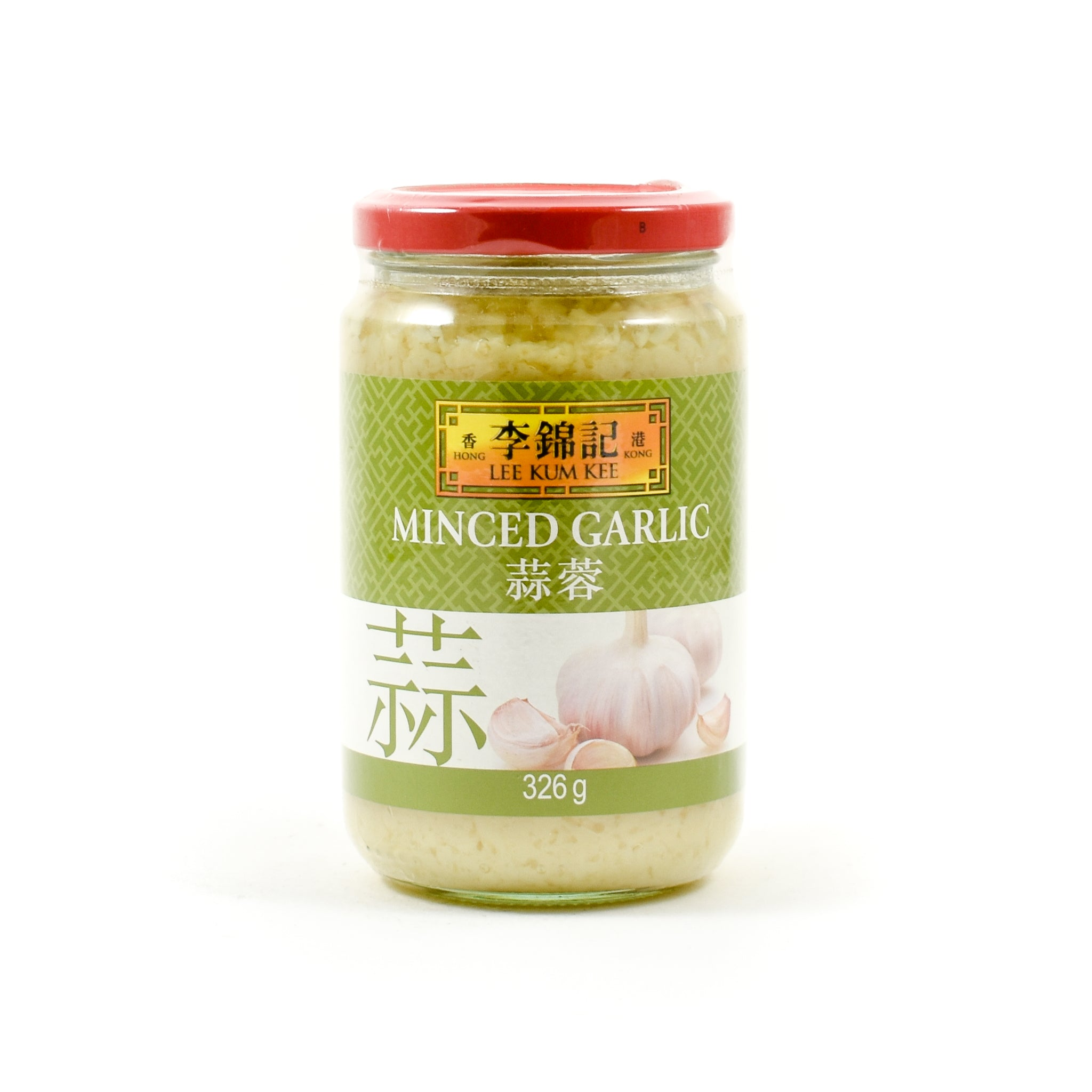 Lee Kum Kee Minced Garlic 326g Ingredients Sauces & Condiments Asian Sauces & Condiments Chinese Food