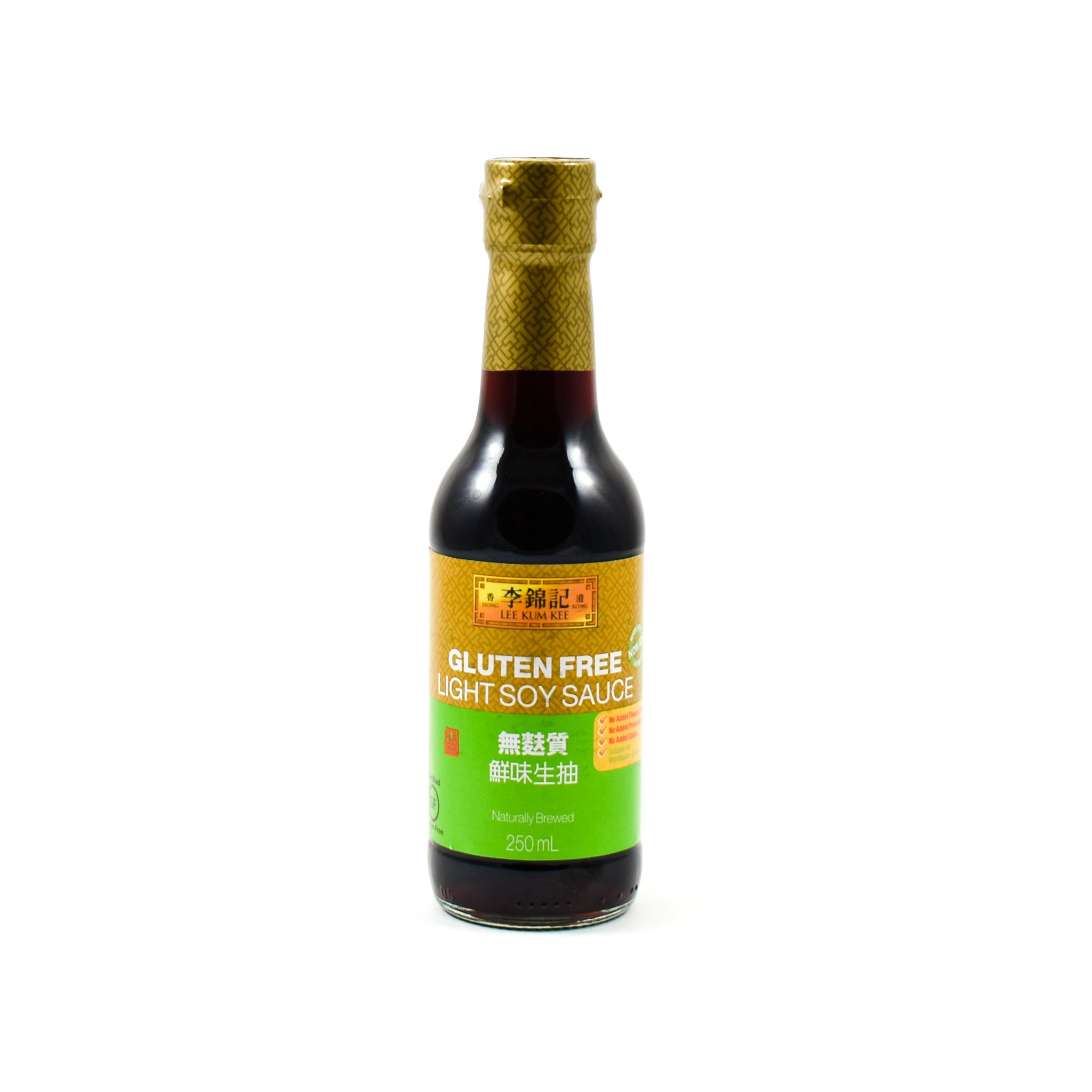 Lee Kum Kee Gluten Free Soy Sauce 250ml Ingredients Sauces & Condiments Asian Sauces & Condiments Chinese Food