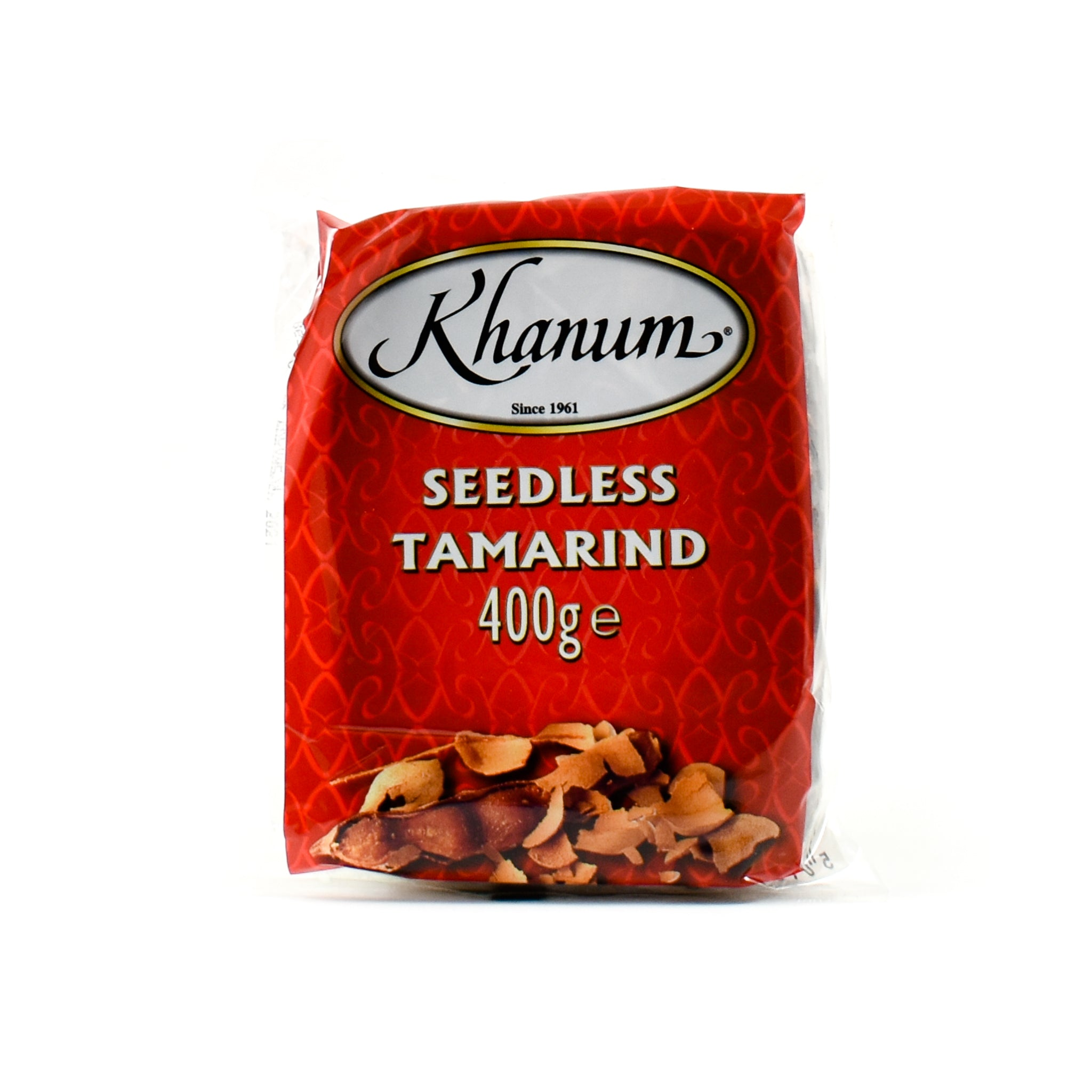 Khanum Seedless Tamarind 400g Ingredients Sauces & Condiments Asian Sauces & Condiments Southeast Asian Food