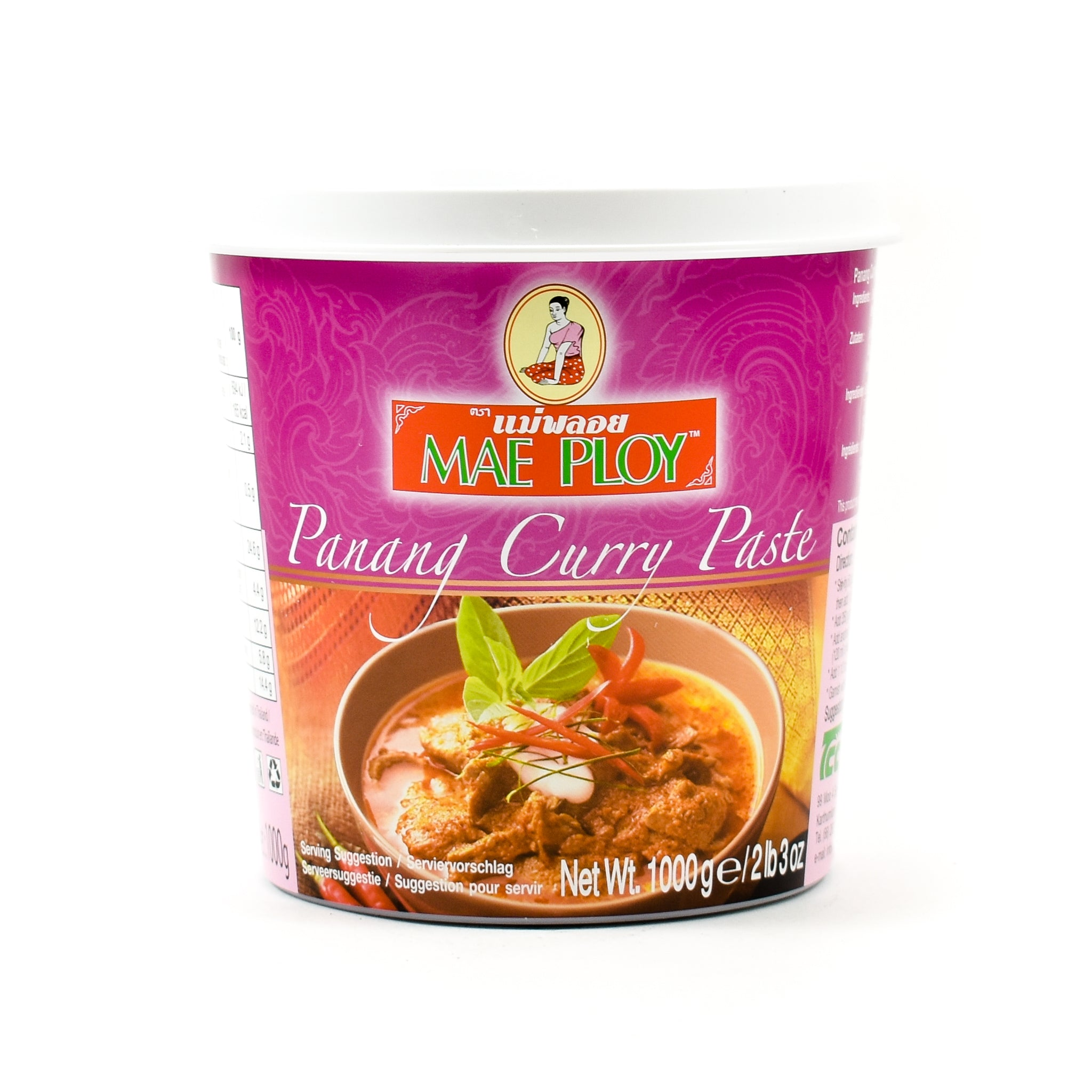Mae Ploy Penang Curry Paste 1kg Ingredients Sauces & Condiments Asian Sauces & Condiments Southeast Asian Food