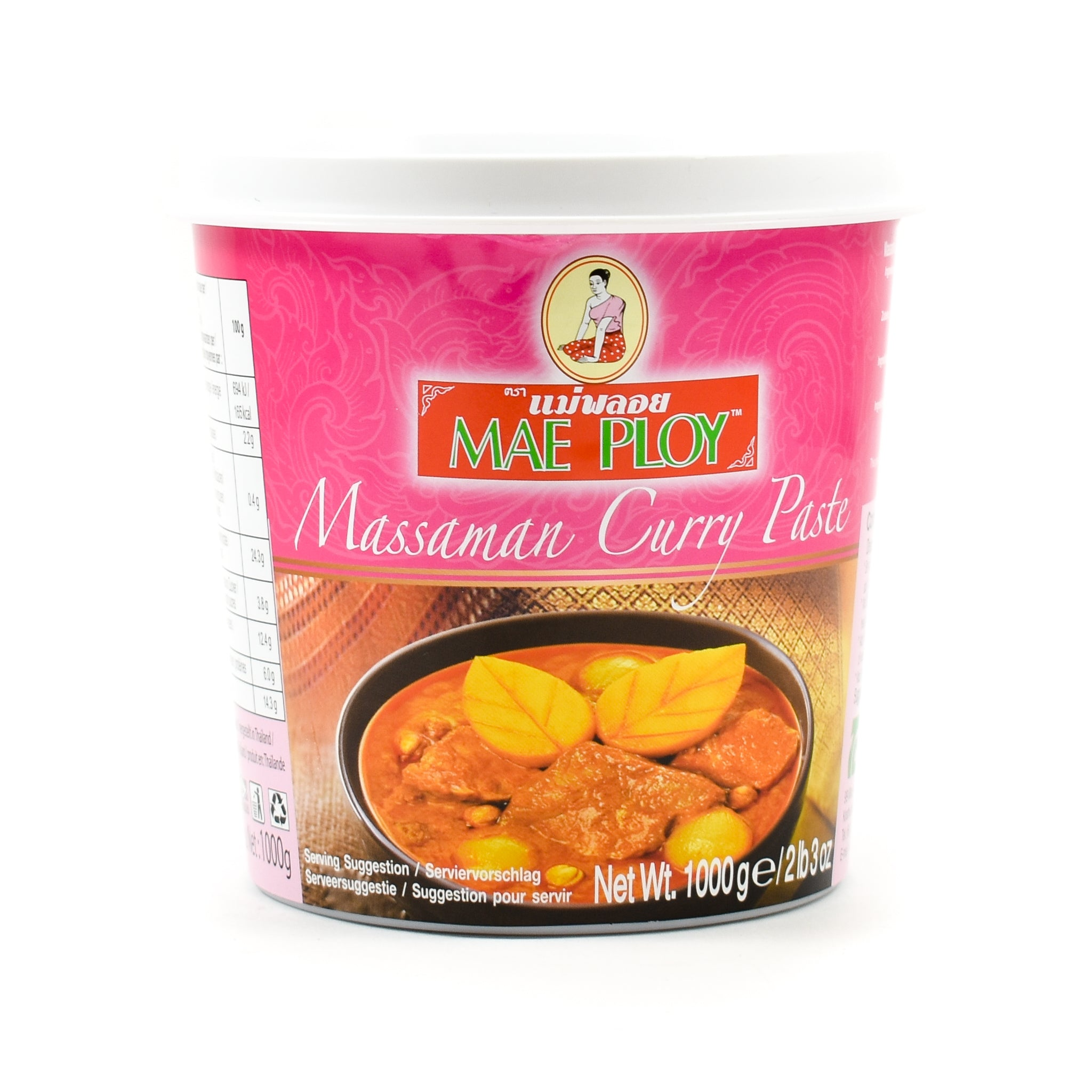 Mae Ploy Masaman Curry Paste 1kg Ingredients Sauces & Condiments Asian Sauces & Condiments Southeast Asian Food