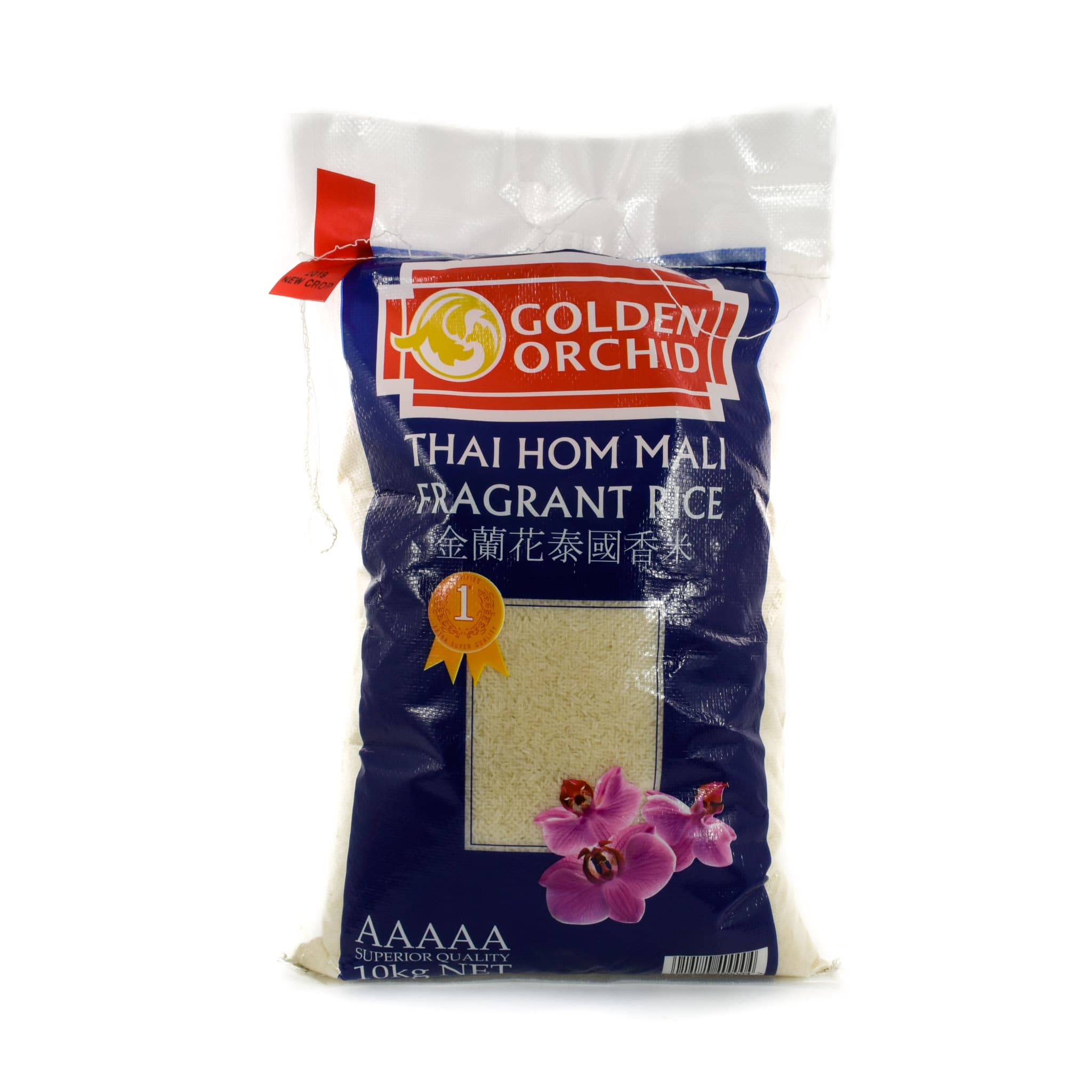 Golden Orchid Fragrant Thai Rice 10kg