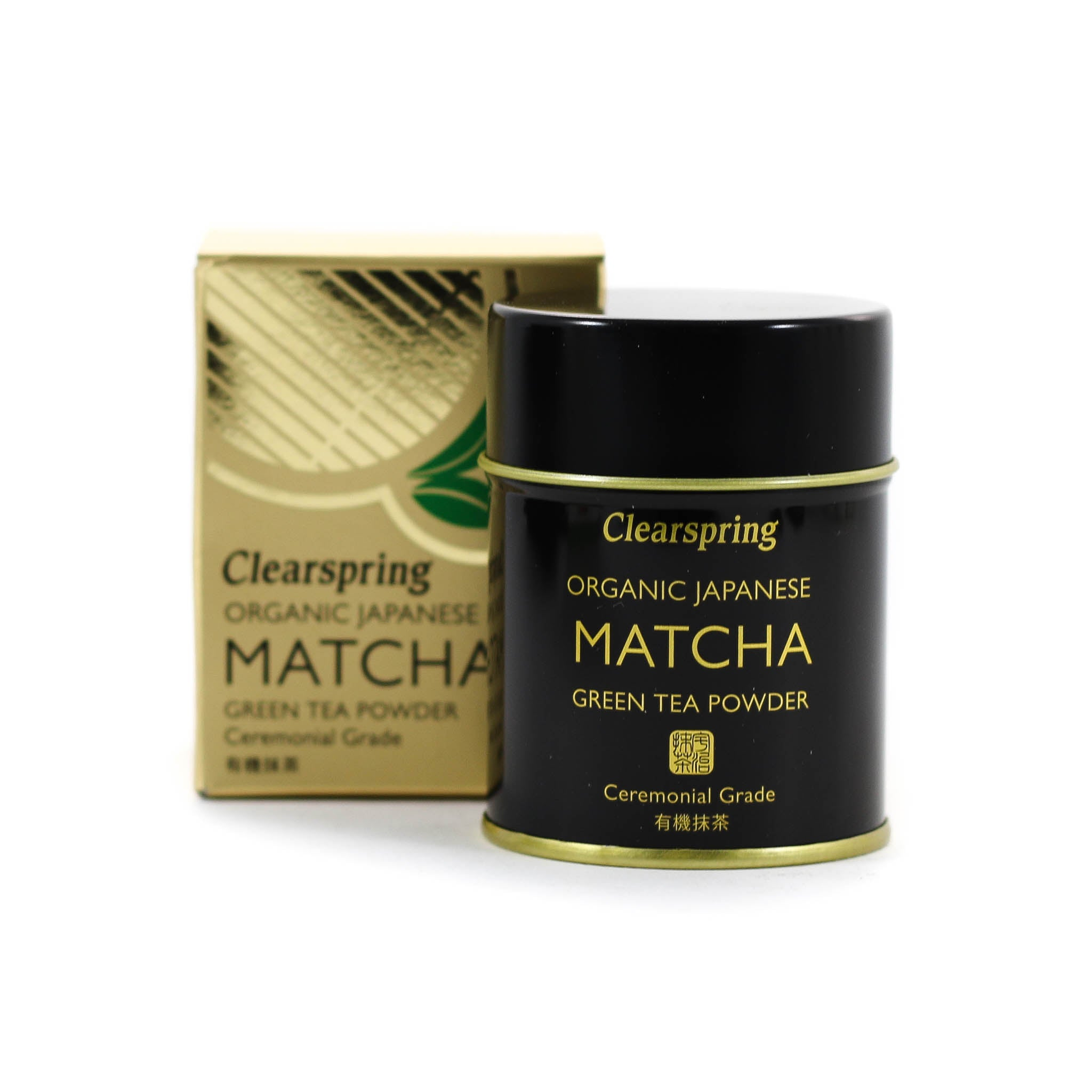 Clearspring Organic Matcha Tea Ceremonial Tin 30g