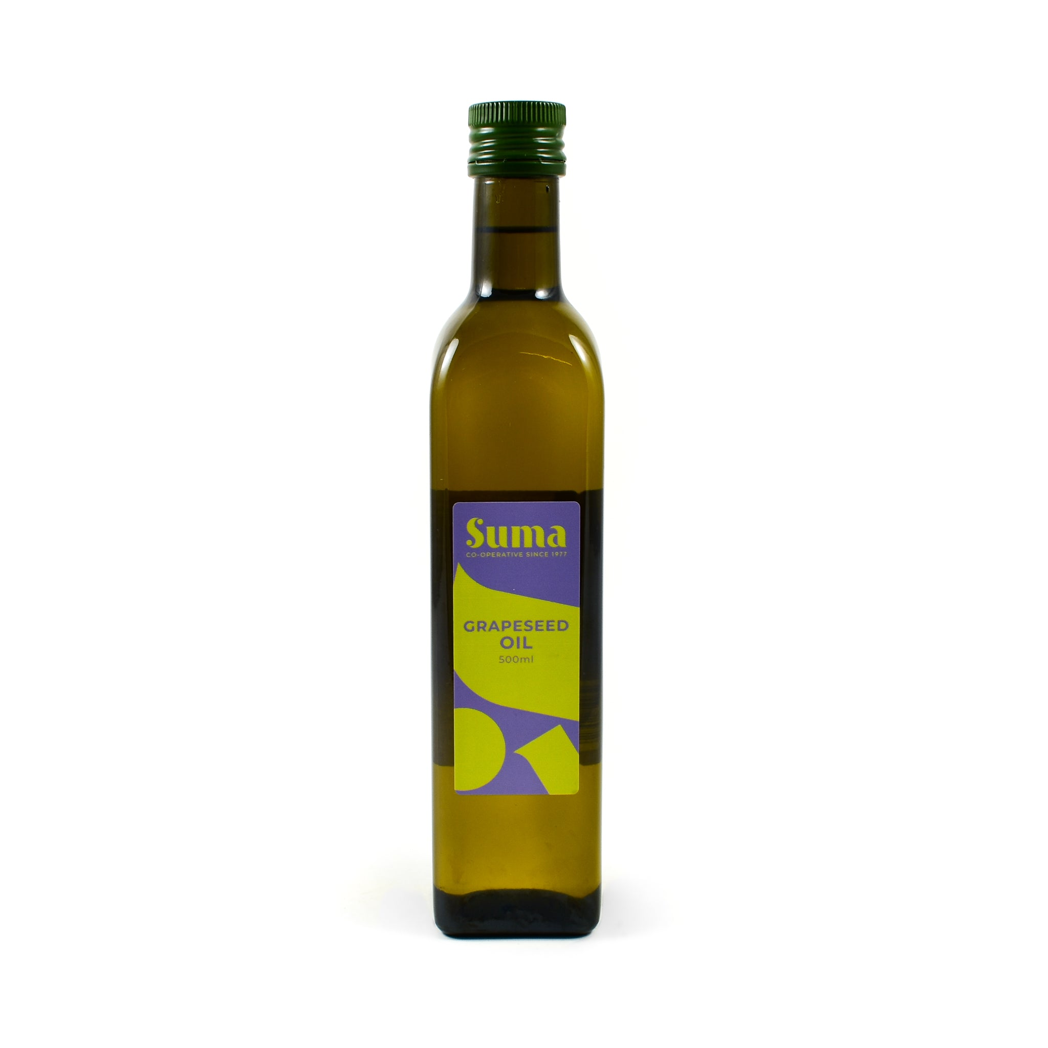 Suma Grapeseed Oil 500ml Ingredients Oils & Vinegars