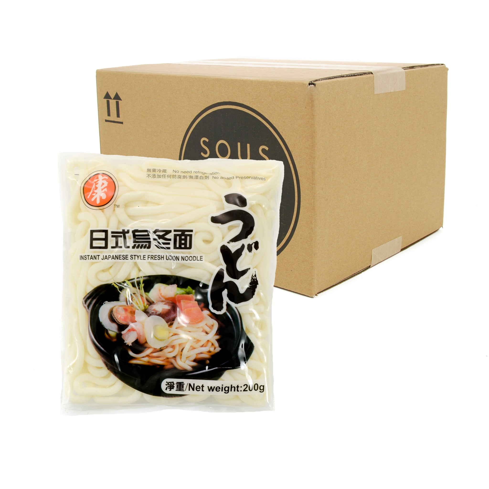 Box of Hong Soft Instant Udon 200g x 30 packs