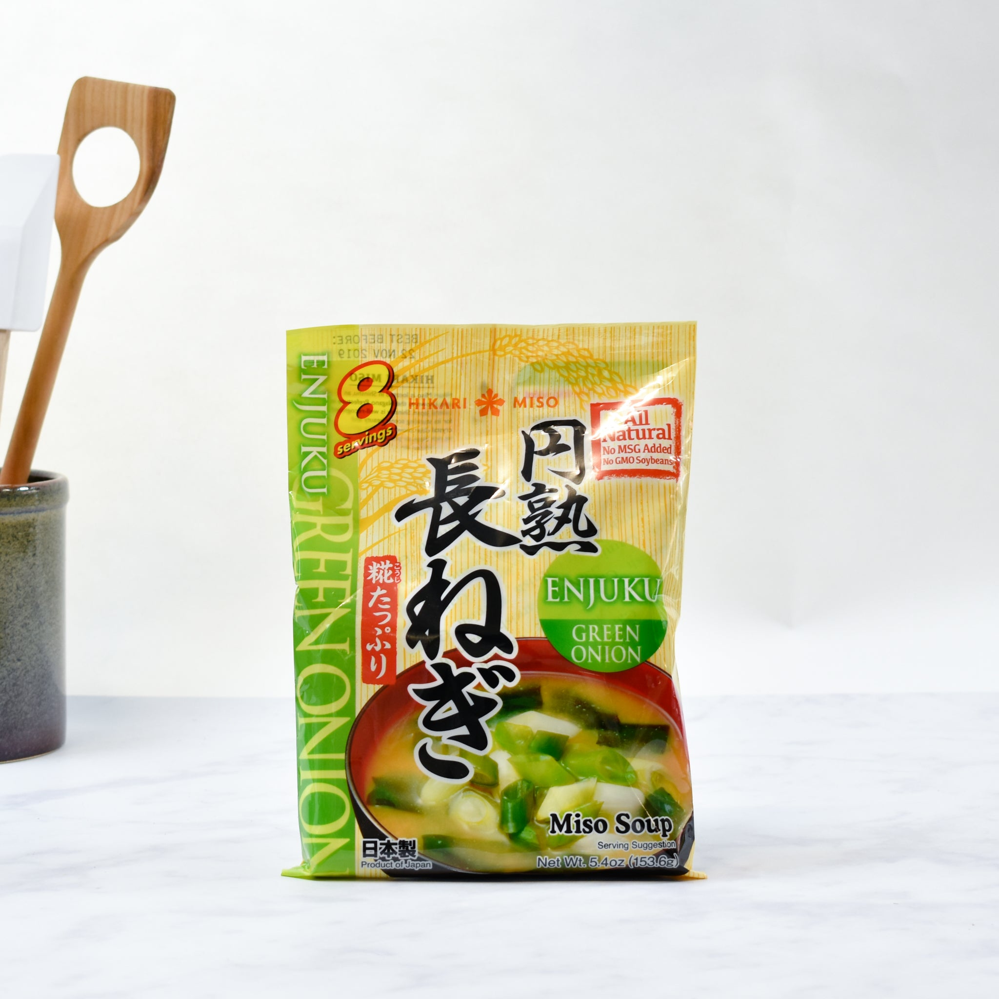 Instant Miso Soup With Green Onion 8 x 22g servings