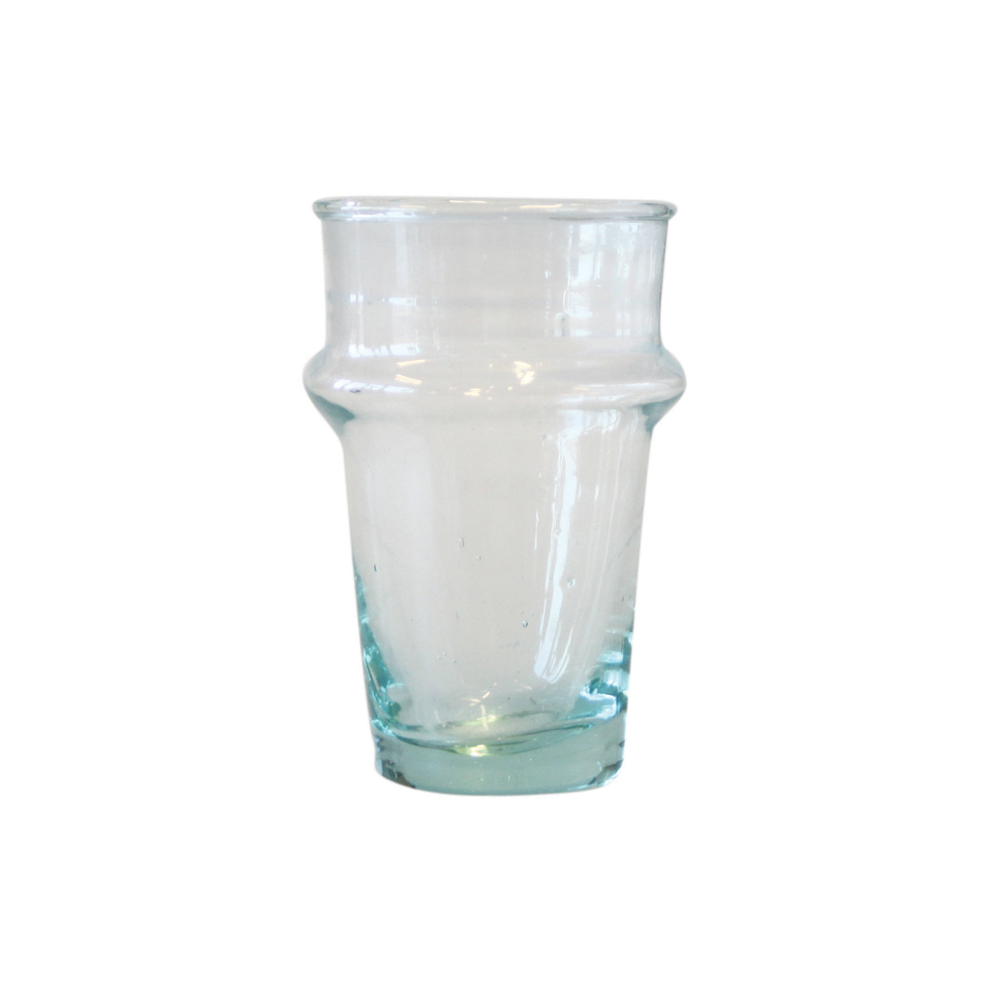 Urban Nature Culture Moroccan Water Glass - Recycled Glass Tableware Jugs & Glassware Middle Eastern Food