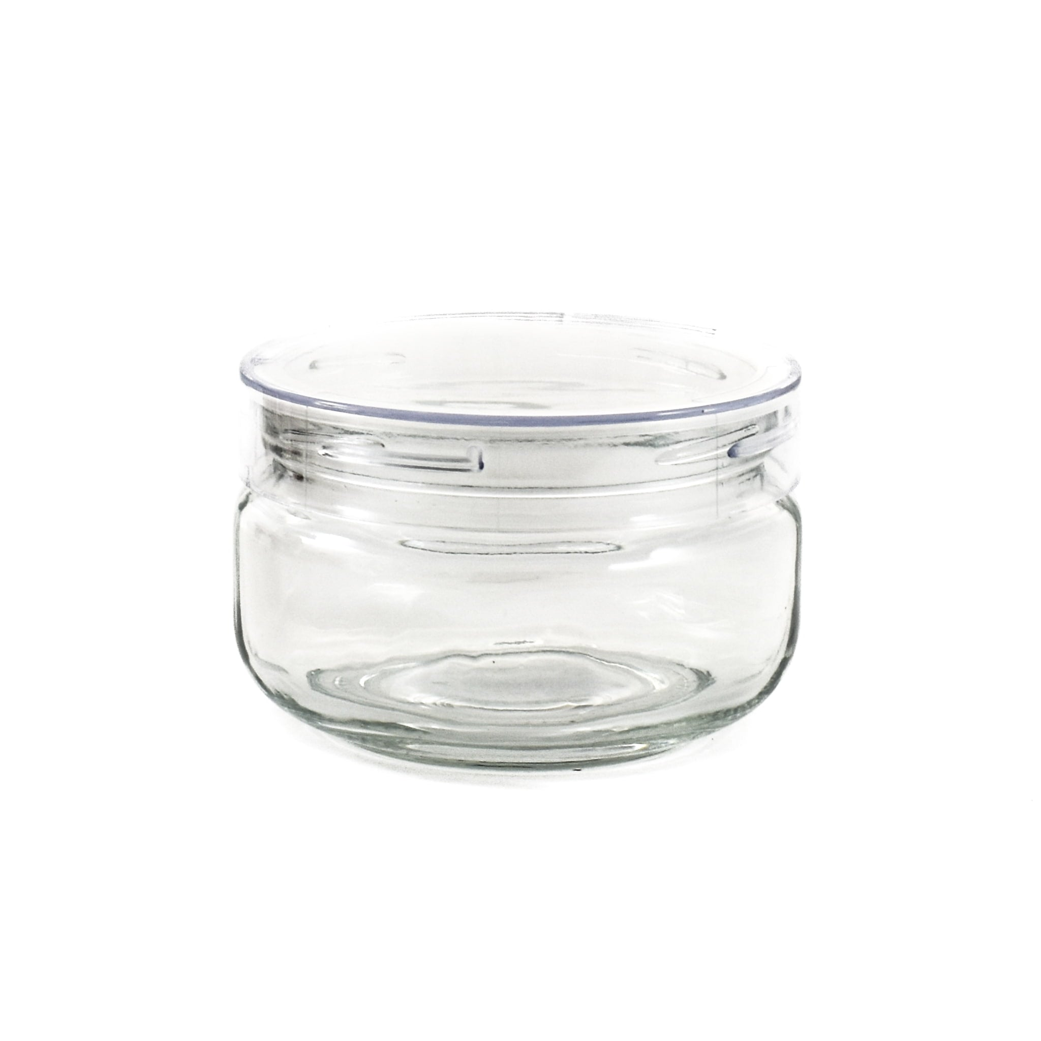 Clear Glass Storage Container 250ml