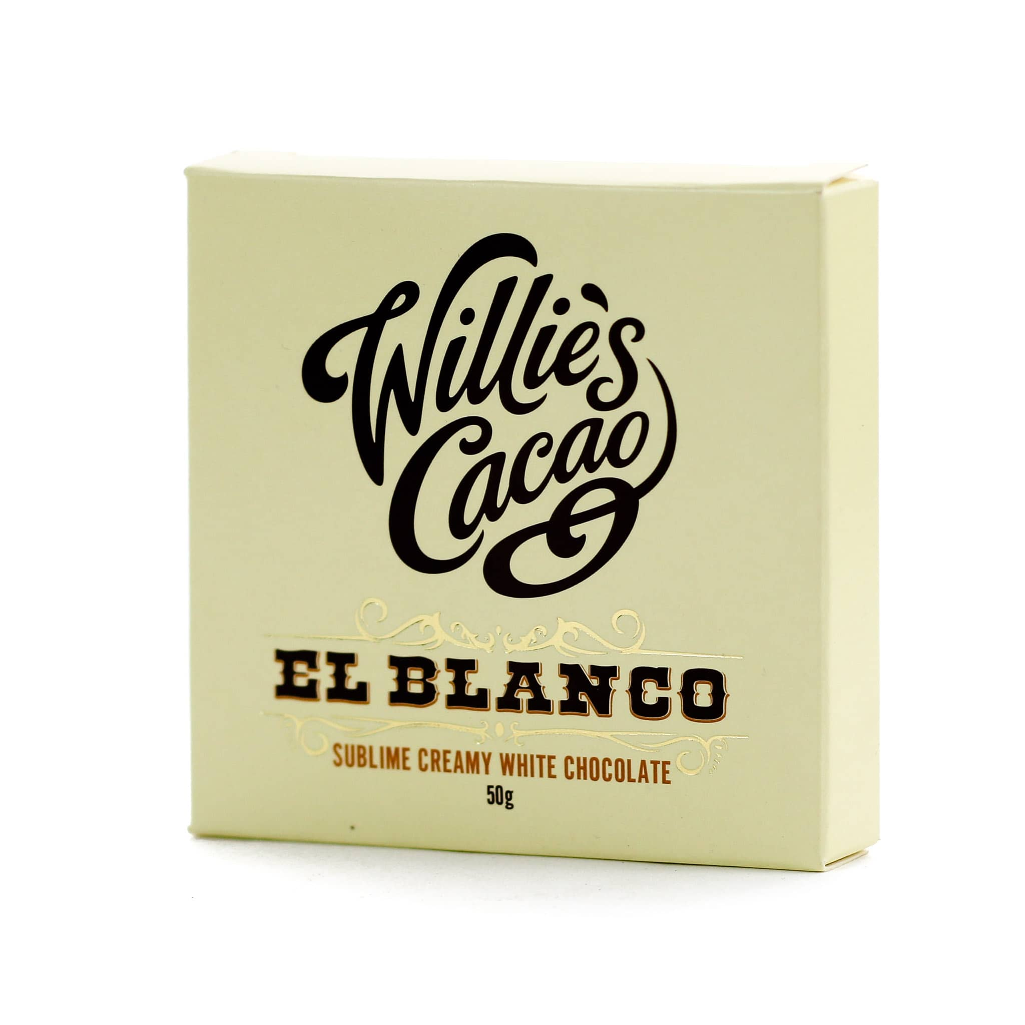 Willie's Cacao El Blanco Pure White Chocolate 50g