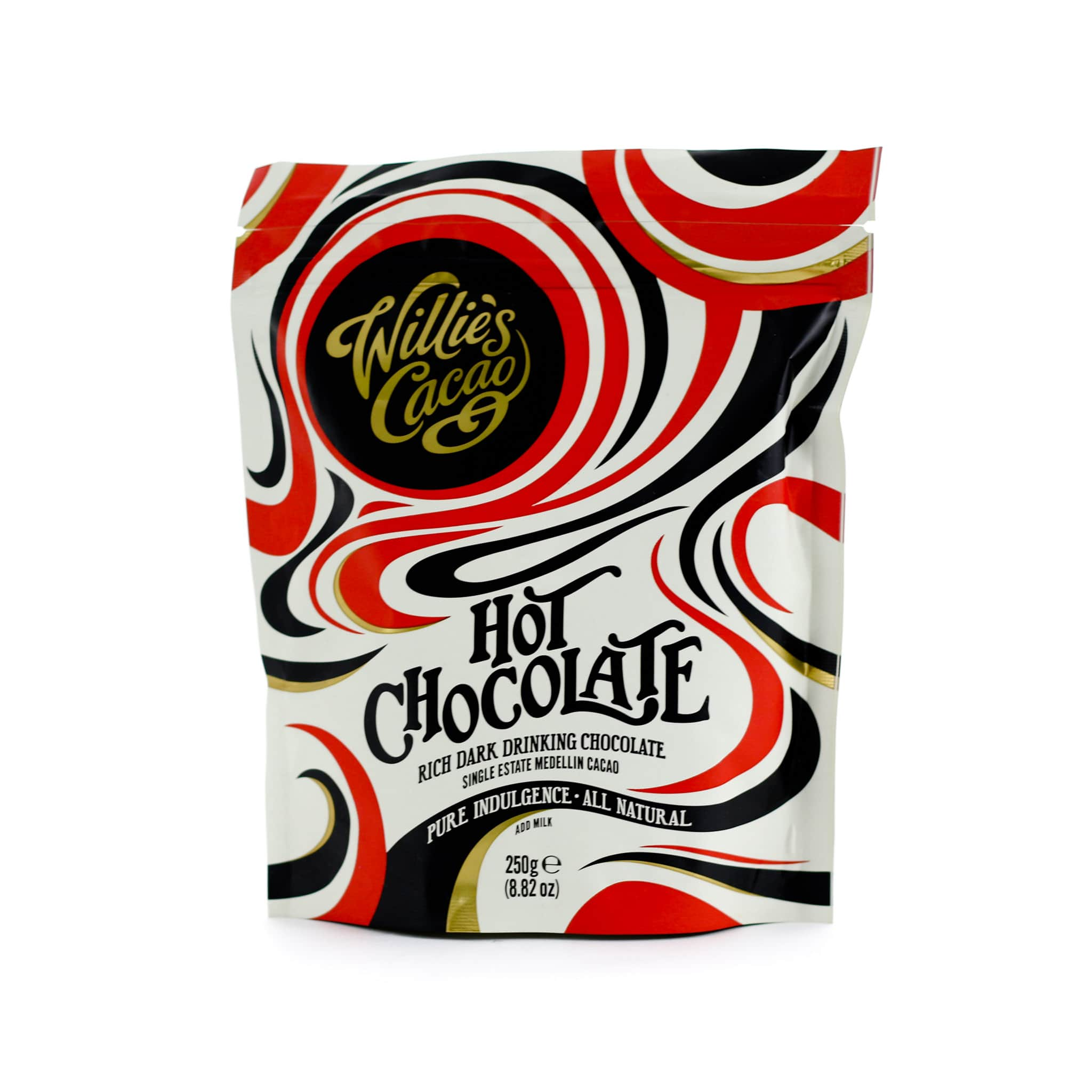 Willie's Cacao Single Estate 52% Hot Chocolate 250g