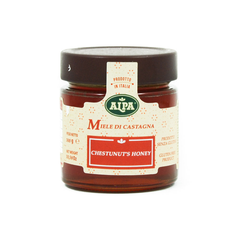 Alpa Italian Chestnut Honey 300g Ingredients Jam Honey & Preserves Italian Food