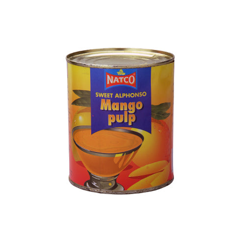 Natco Alphonso Mango Pulp 850g Ingredients Drinks Syrups & Concentrates Indian Food