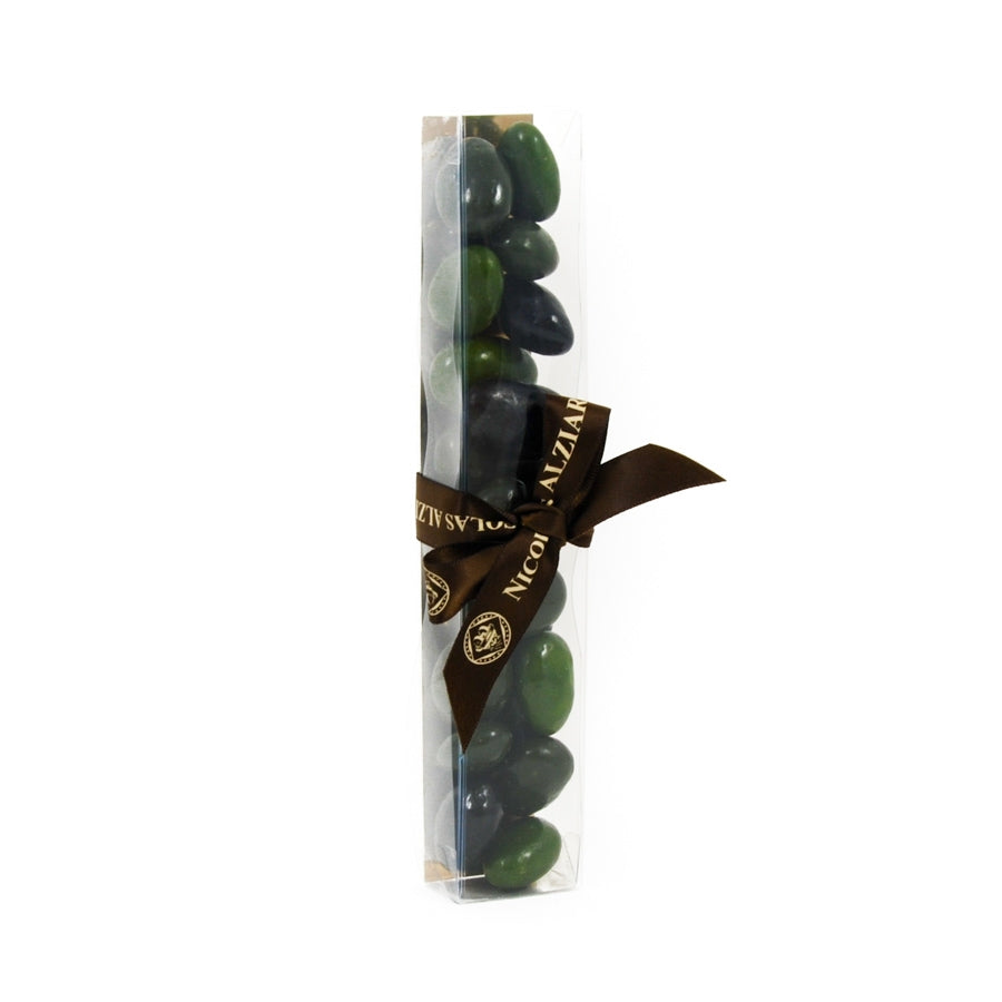 Nicolas Alziari Provence Olive-Shaped Chocolates 80g Ingredients Chocolate Bars & Confectionery French Food