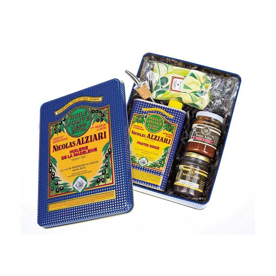 Nicolas Alziari Alziari Provence Olive Oil Gift Box Ingredients Oils & Vinegars French Food