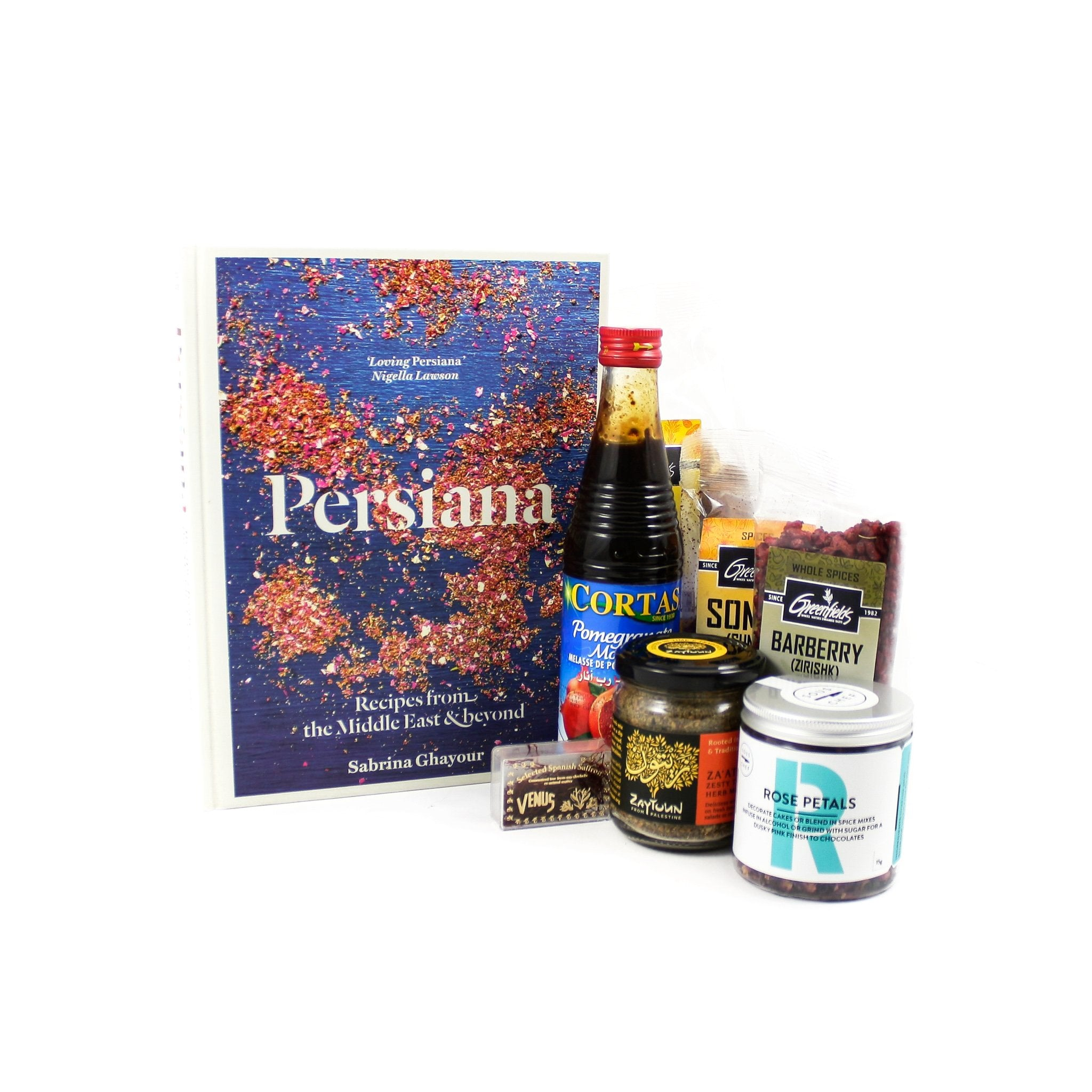 Sous Chef Kit Persiana Cookbook Set Gifts Cookbook & Ingredients Sets