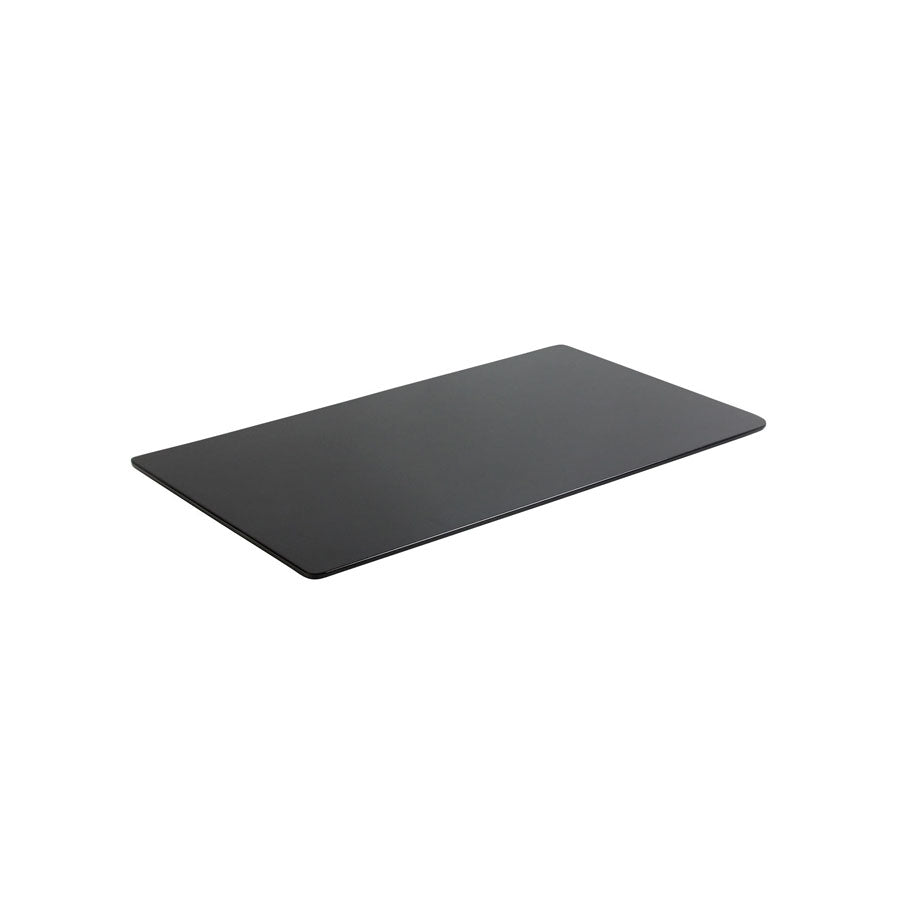 Black Gloss Canape Tray 32x17cm
