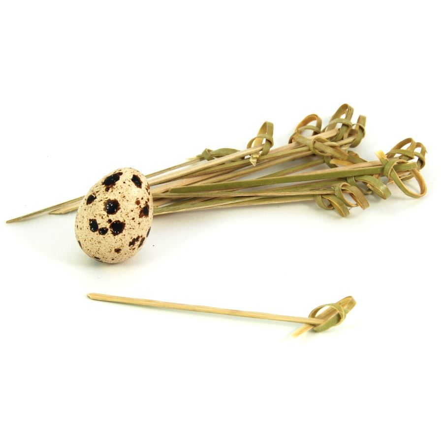 Bamboo Looped Skewer 9cm