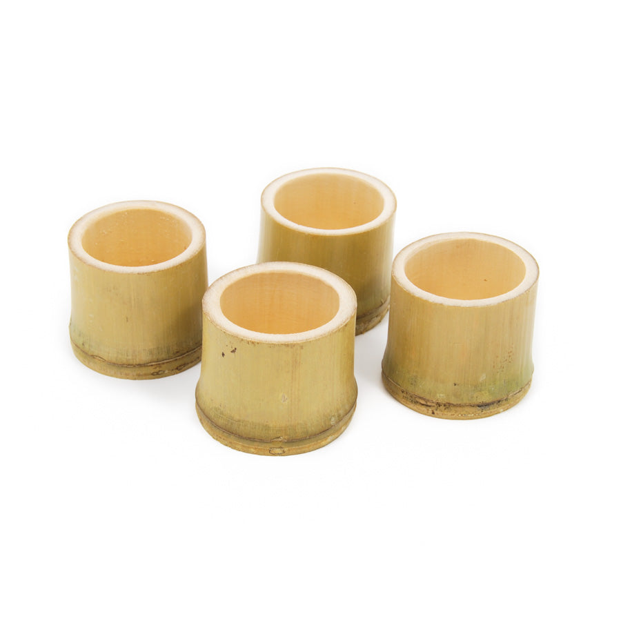 First Pack Bamboo Sake Cups 50ml Cookware Canape Supplies