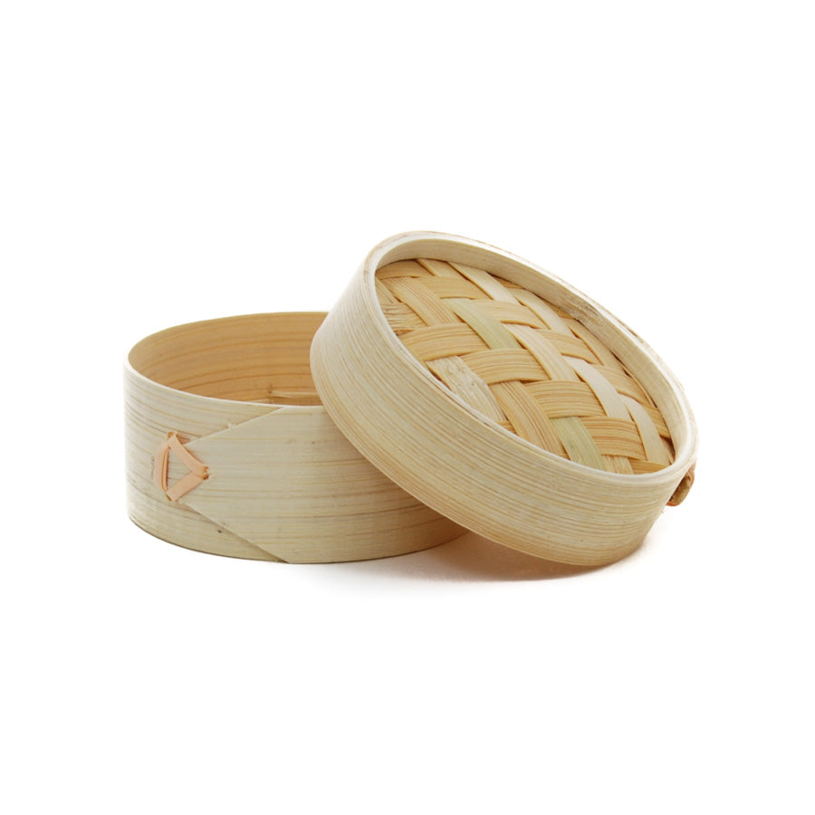 First Pack Mini Bamboo Steamers Cookware Canape Supplies
