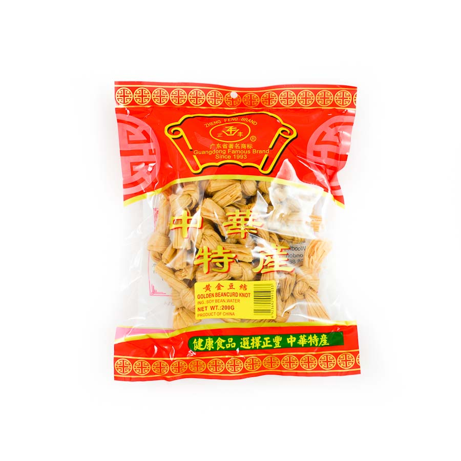 Guangdong Dried Tofu Knots 200g Ingredients Tofu & Beans & Pulses Chinese Food