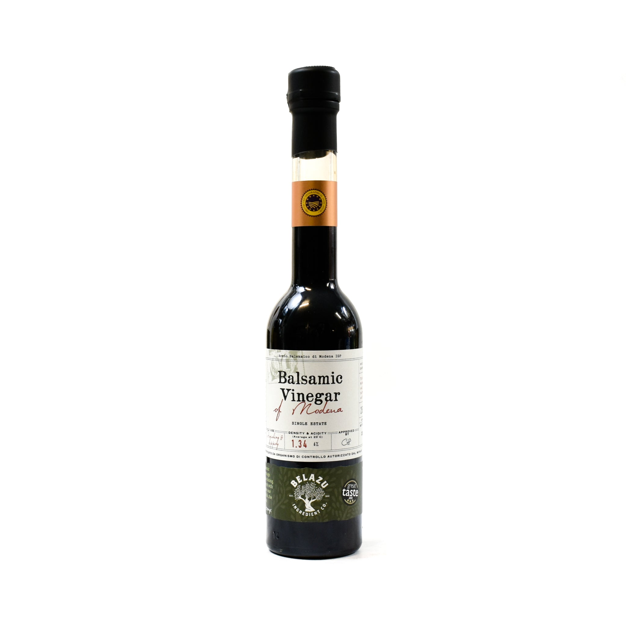 Belazu Balsamic Vinegar 1.34 250ml Ingredients Oils & Vinegars Italian Food