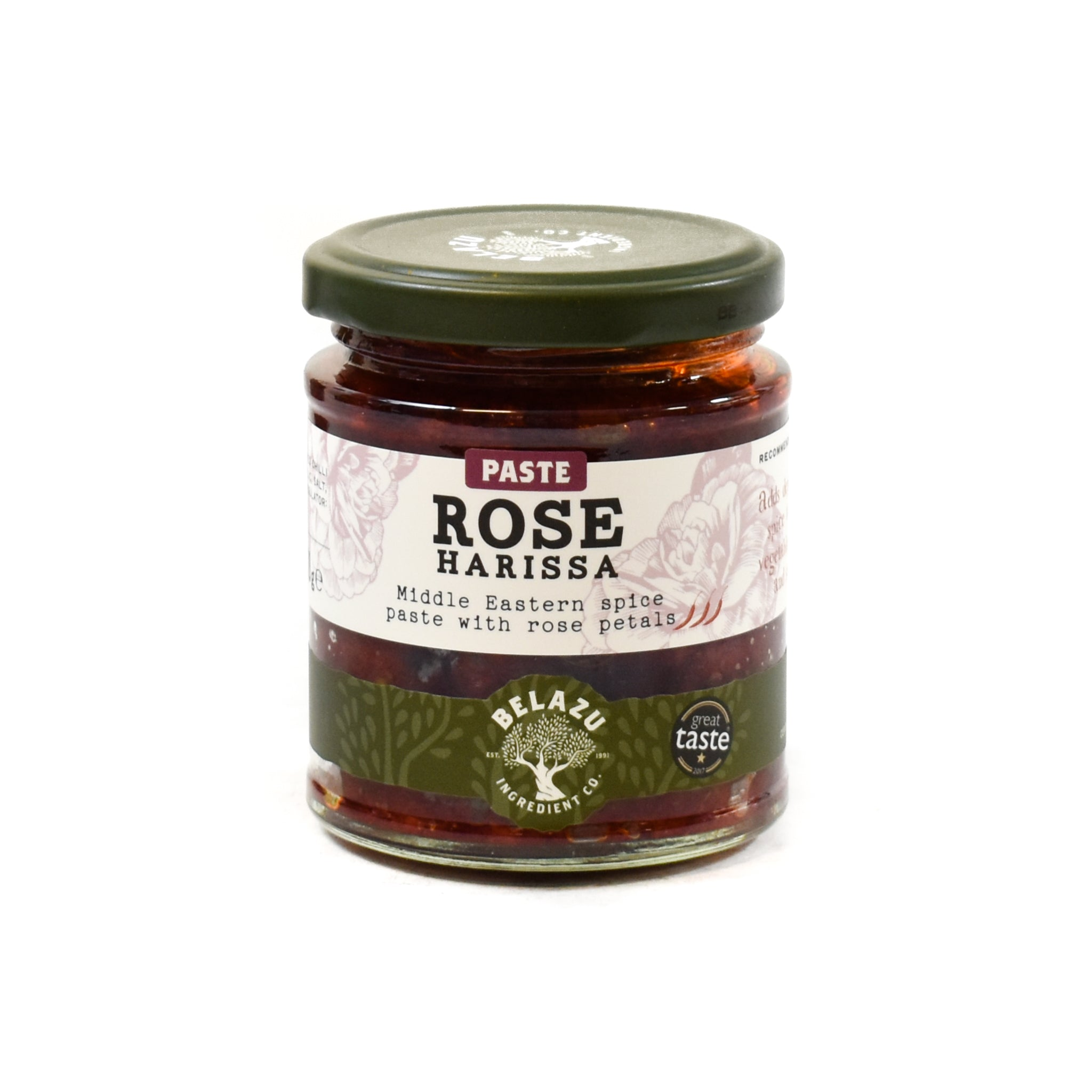 Belazu Rose Harissa 170g Ingredients Sauces & Condiments