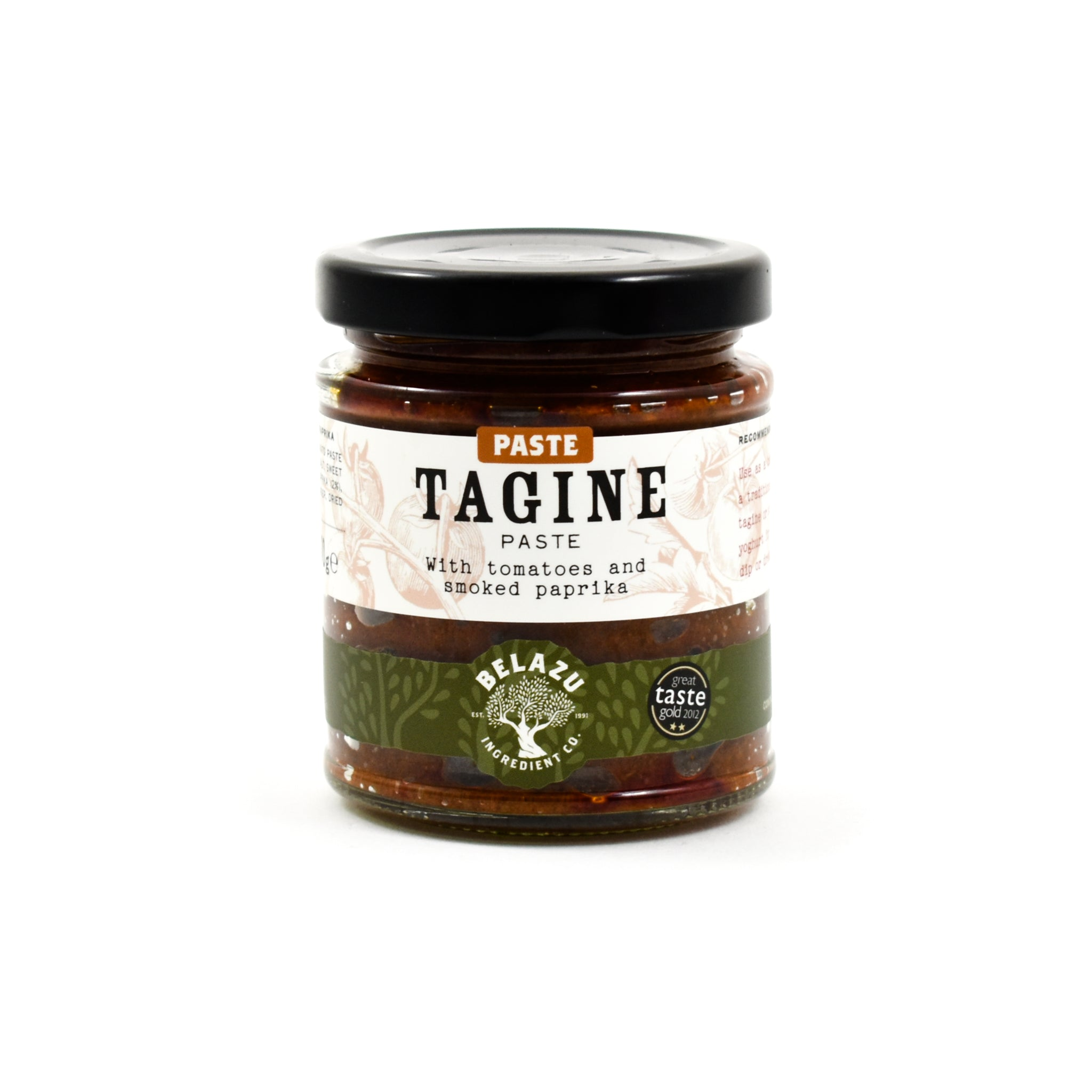 Belazu Tagine Paste 170g Ingredients Sauces & Condiments