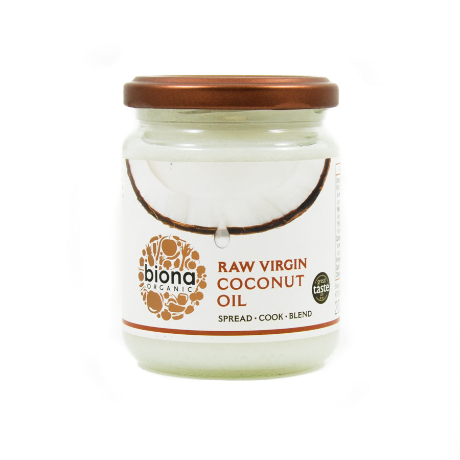 Biona Organic Virgin Coconut Oil 200ml Ingredients Oils & Vinegars
