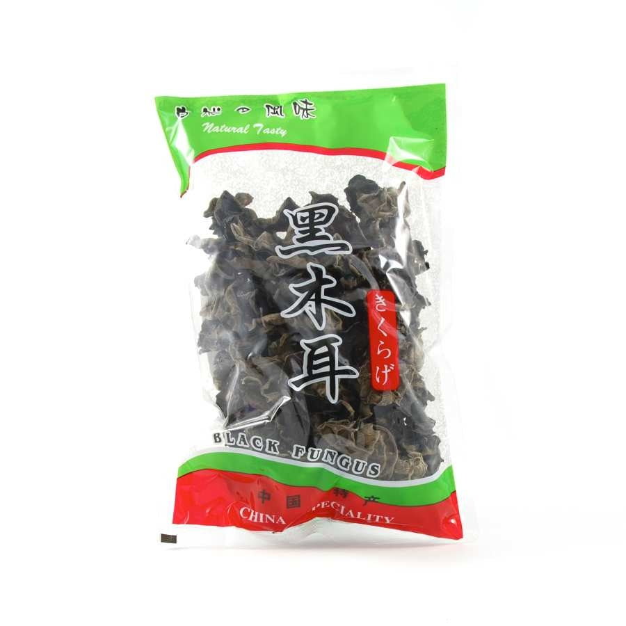 Chinese Ingredients Black Fungus - Cloud Ear 100g Ingredients Mushrooms & Truffles Chinese Food