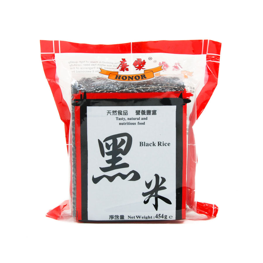 HONOR Chinese Black Rice 454g Ingredients Pasta Rice & Noodles Rice Chinese Food