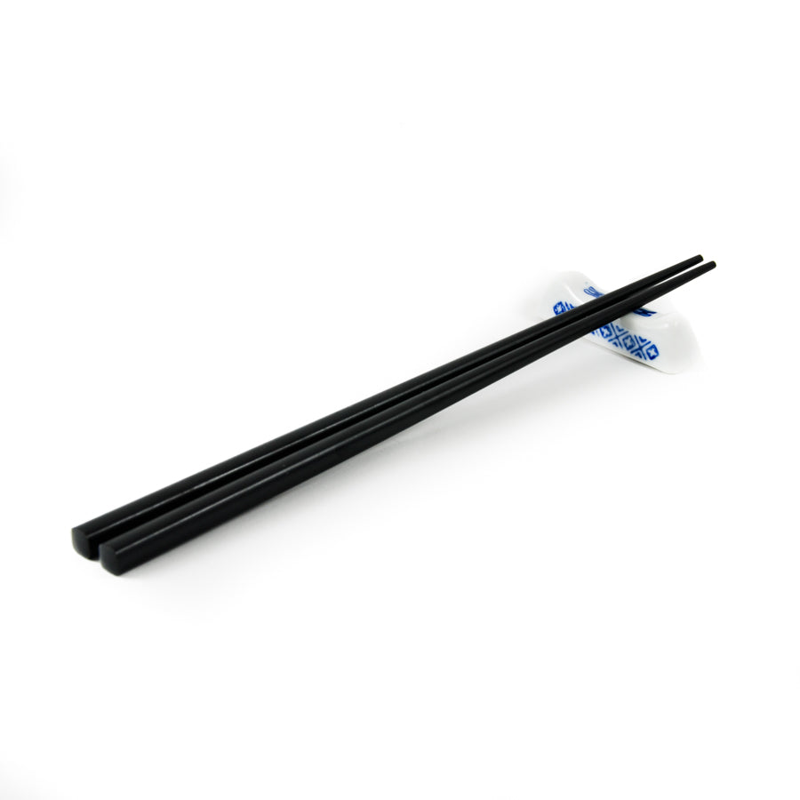Blue Rice Pattern Chopstick Rest