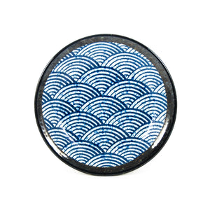 Blue Wave Medium Plate
