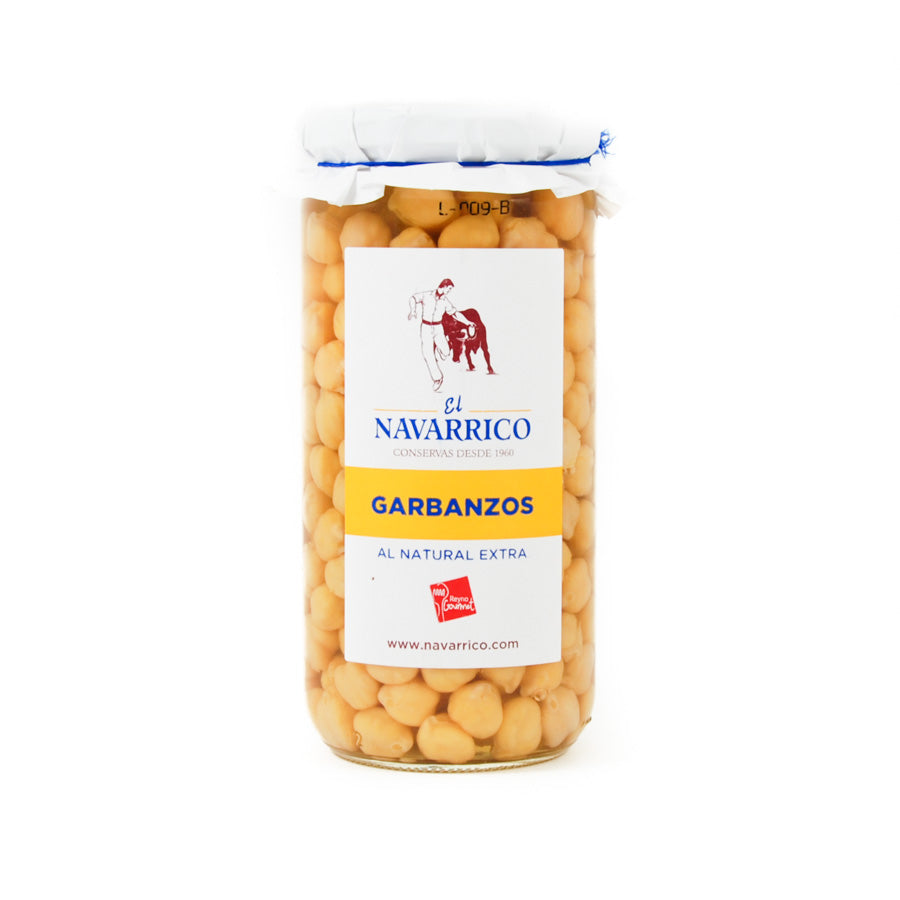 Brindisa Navarrico Garbanzos Chickpeas 660g Ingredients Tofu & Beans & Pulses Spanish Food