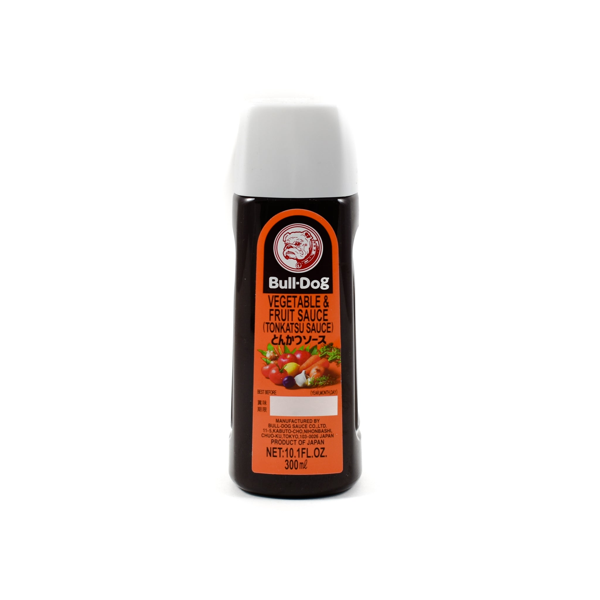 Bulldog Tonkatsu Sauce 300ml Ingredients Sauces & Condiments Asian Sauces & Condiments Japanese Food