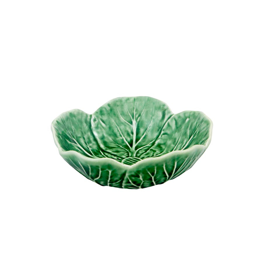 Round Cabbage Leaf Bowl