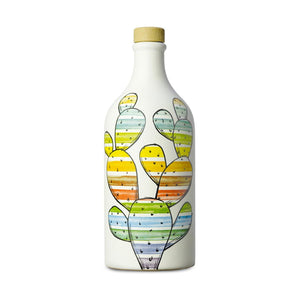 Medium Fruity Extra Virgin Olive Oil in Cactus Terracotta Bottle