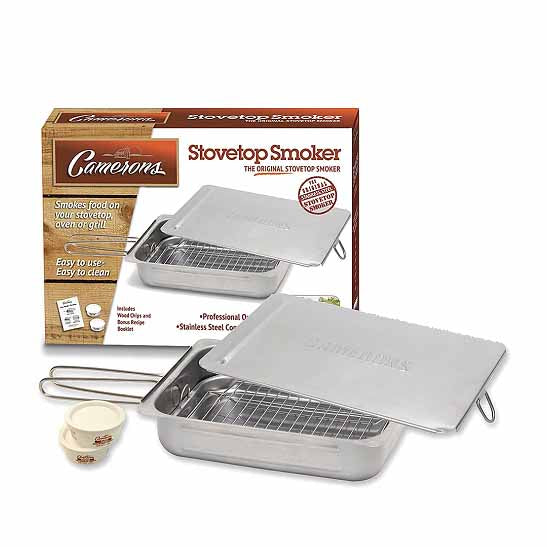"Camerons Stovetop Smoker 11"" x 15"" Cookware Food Smokers & BBQ"