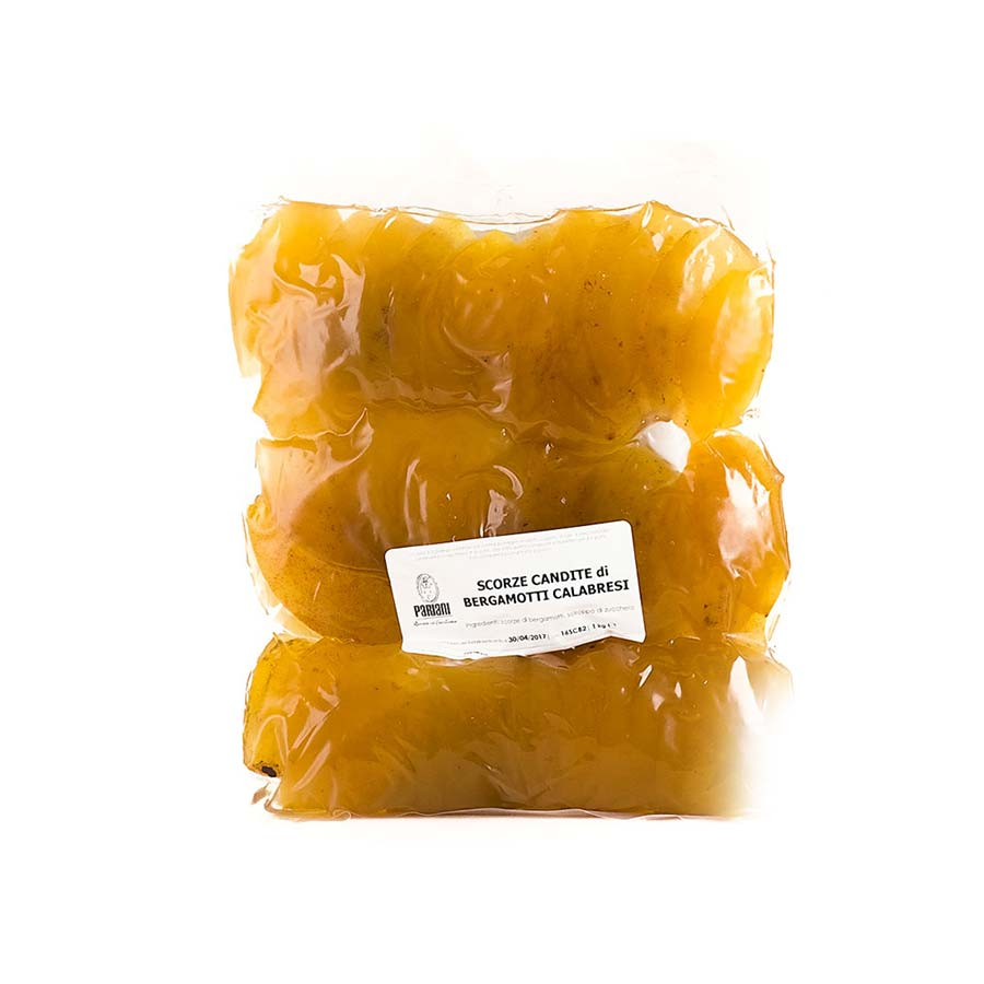 Pariani Calabrian Candied Bergamot Peel 1kg Ingredients Baking Ingredients Dried & Preserved Fruit Italian Food