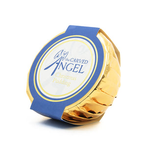 Carved Angel Traditional Christmas Pudding