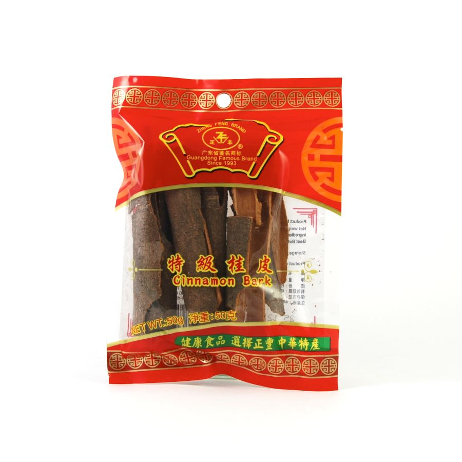Zheng Feng Cassia Bark 50g Ingredients Seasonings Chinese Food