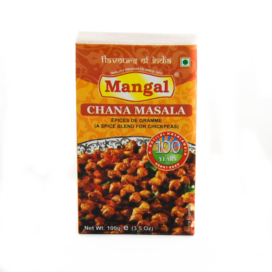 Natco Chana Masala 100g Ingredients Seasonings Indian Food