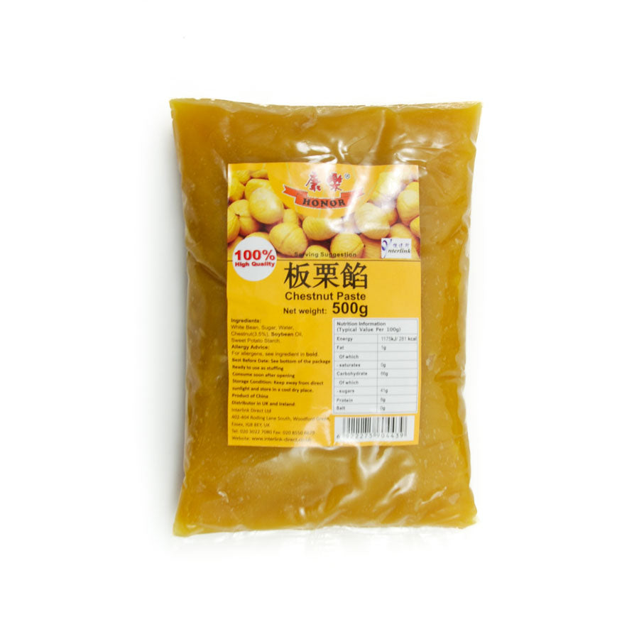 HR Sweetened Chestnut Paste 500g Ingredients Tofu & Beans & Pulses Chinese Food