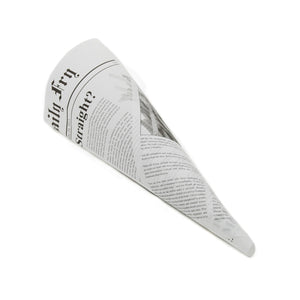 Newsprint Chip Shop Paper