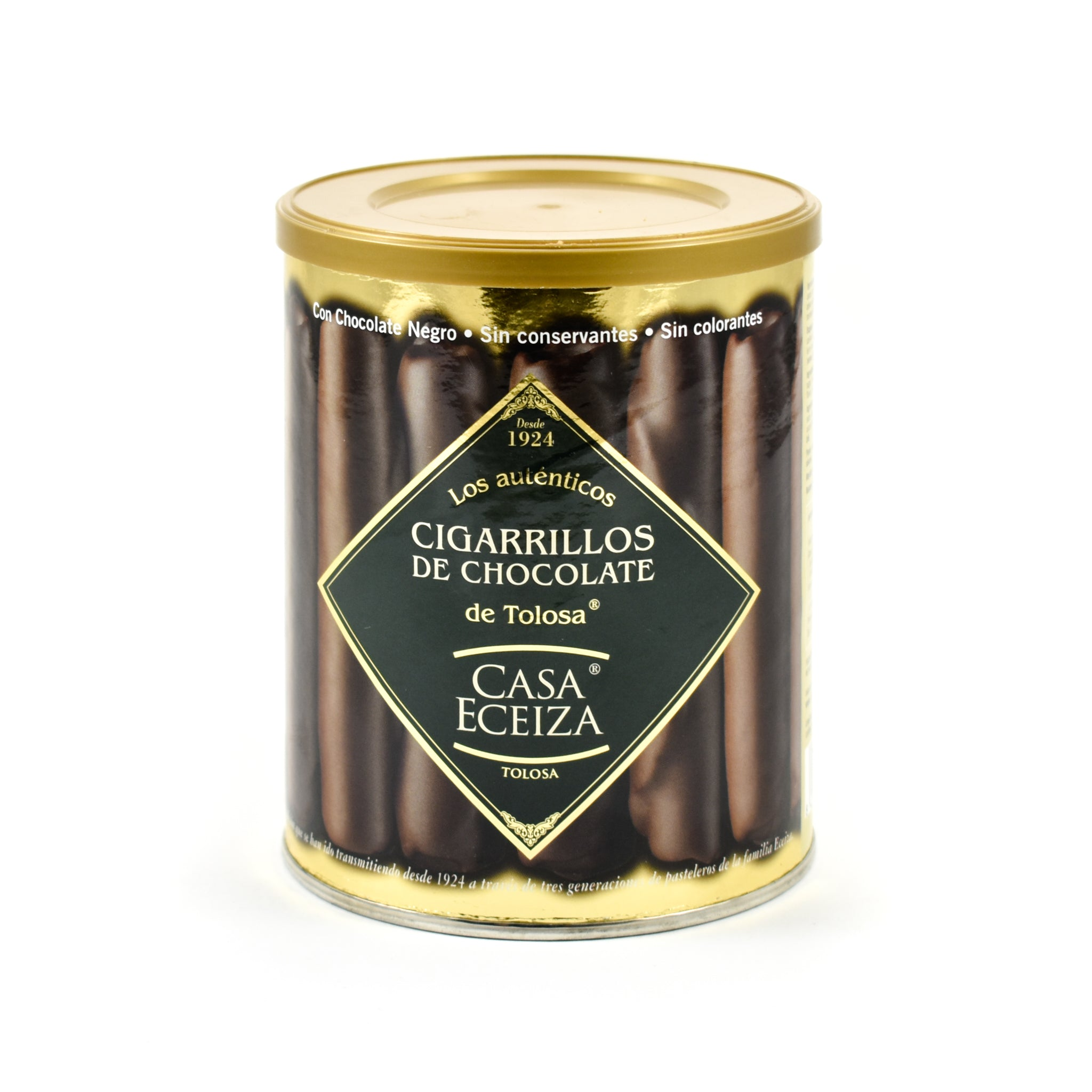 Casa Eceiza Chocolate Covered Cigarrillos Ingredients Chocolate Bars & Confectionery Spanish Food