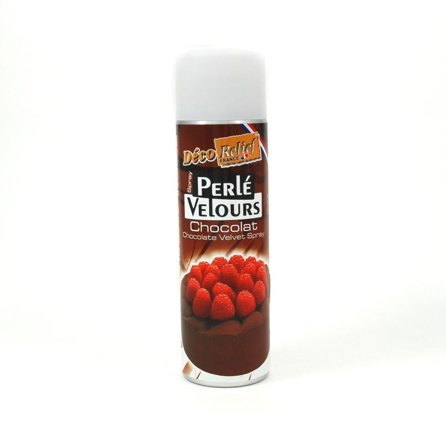 Deco Relief Chocolate Velvet Spray 500ml Ingredients Baking Ingredients Baking Sugar & Decoration French Food