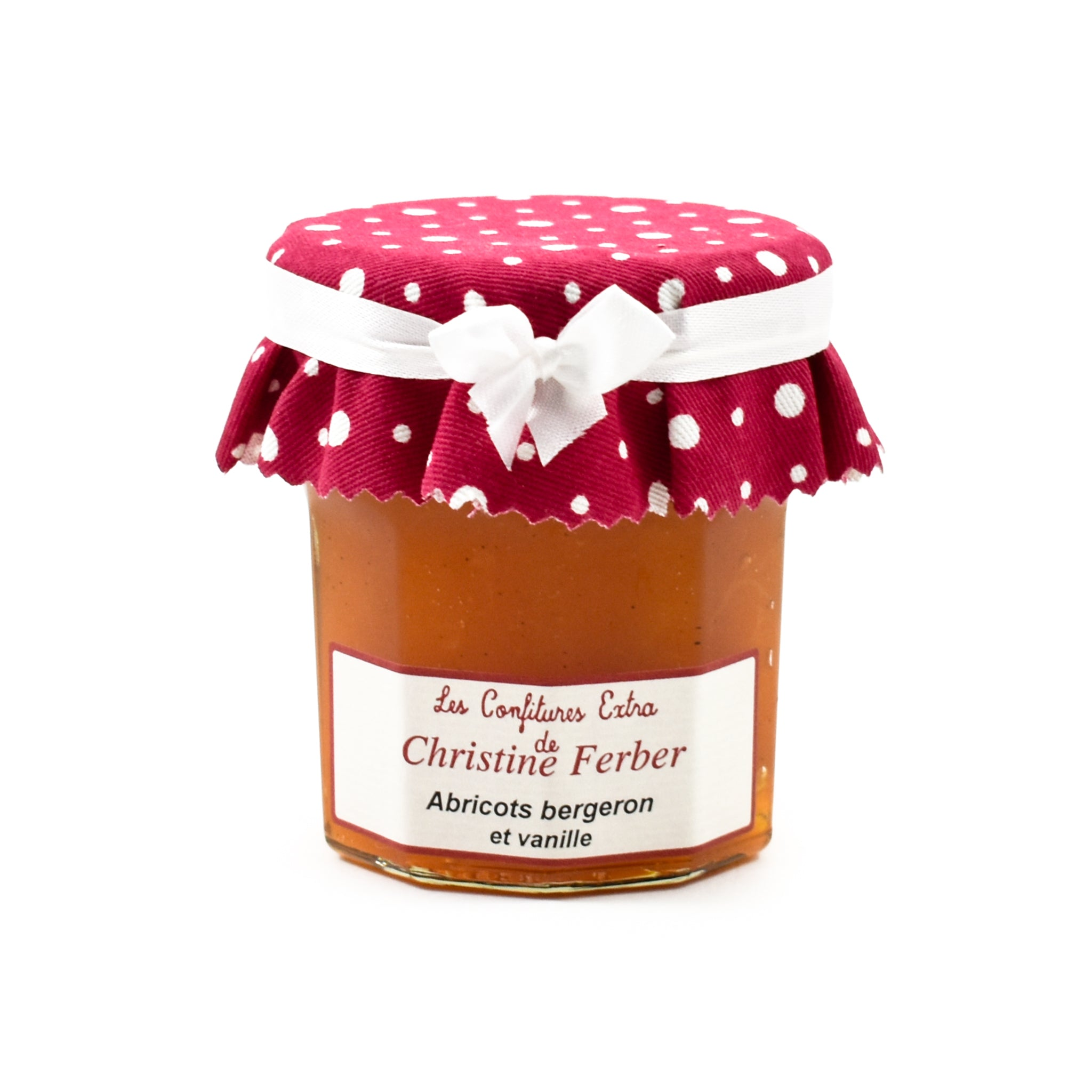 Christine Ferber Bergeron Apricot & Vanilla Jam 220g Ingredients Jam Honey & Preserves French Food